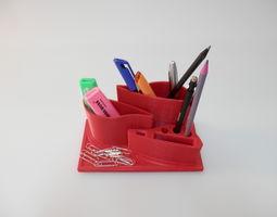3D print model pencil-holder Pen holder