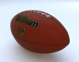 American Football - Ball 3D model game-ready
