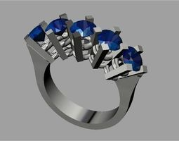 engegament ring 3D printable model