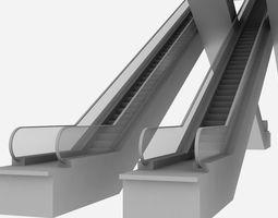 3D model Escalators Unit at Haram Expansion