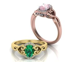 Oval cut engagement ring from pinterest 3D print model