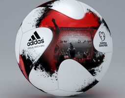 2018 FIFA World Cup Qualification Official Match Ball 3D