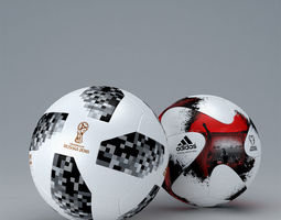 3D model Fifa 2018 Official Match Balls Worldcup - Russia