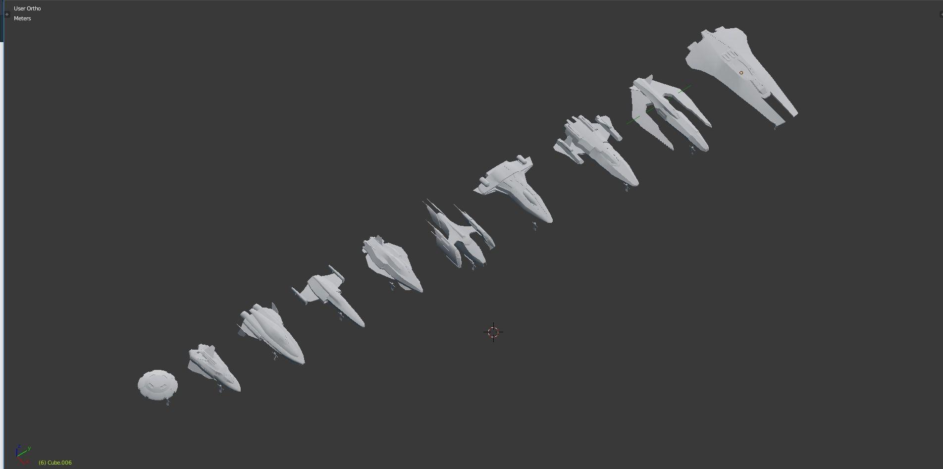 Spaceships Pack