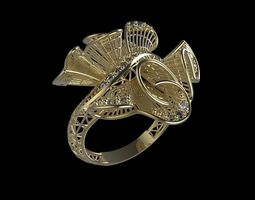 3D print model ultra vision ring