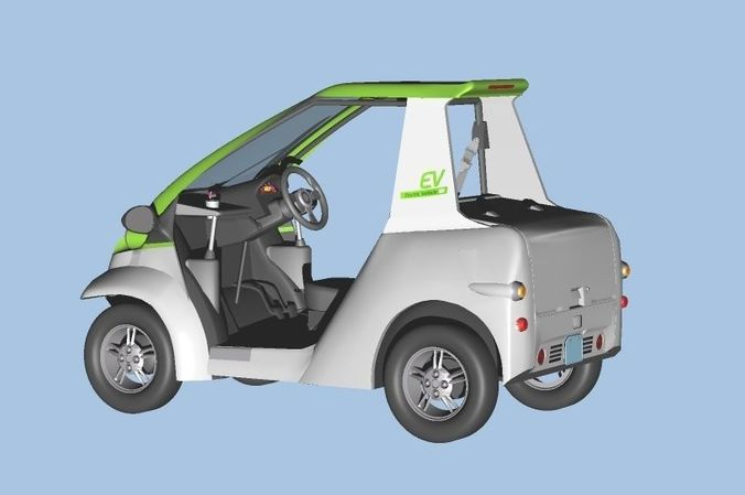 Personal Electric Vehicle 2Way early model