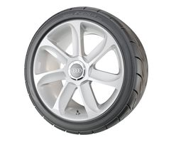 Performance Car Wheel tire 3D