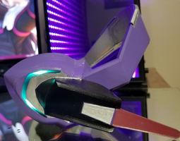 3D print model Dva LED Headset Cosplay Prop