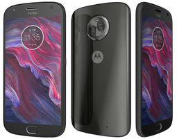 Motorola Moto X4 Super Black 3D