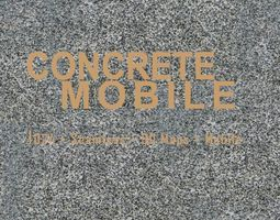 3D model 1K Concrete Mobile