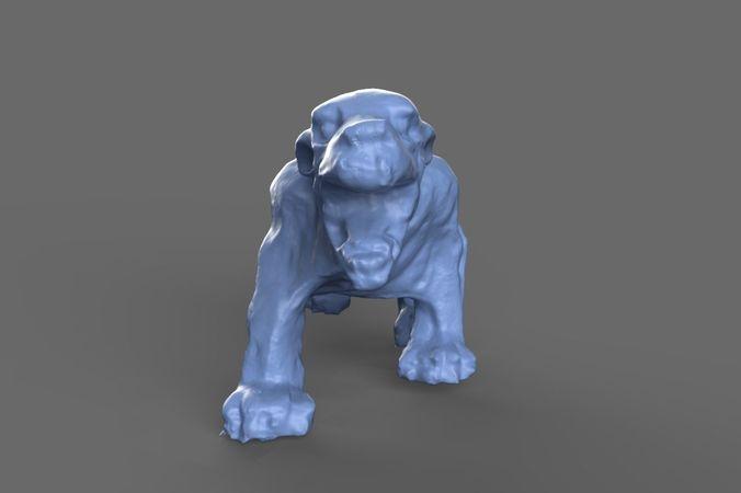 Zombie Dog Miniature 1