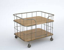 art 3D Trolley Bar Loft