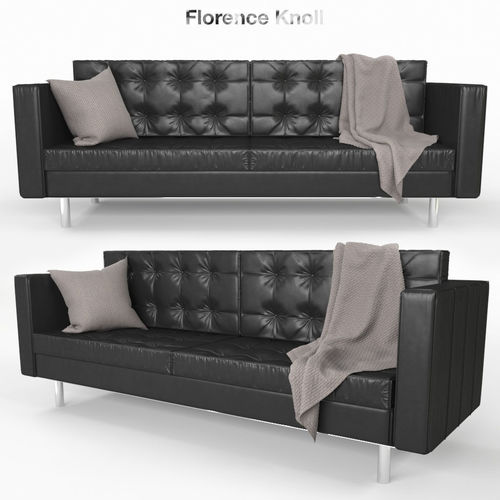 Florence Knoll Sofa 3D Model