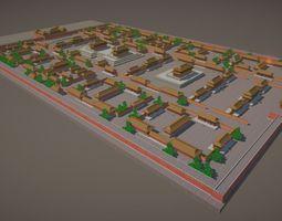 3D model Forbidden City