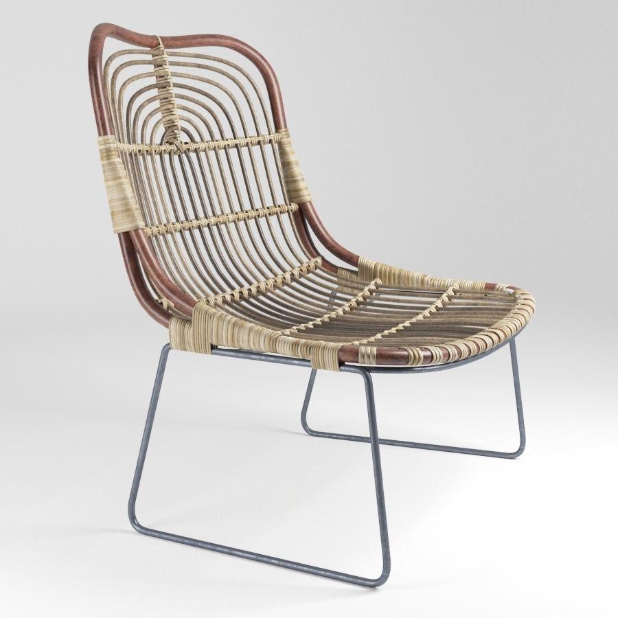 ... house doctor kawa lounge chair 3d model max fbx 5 5fb563f667b50