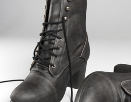 3D clothes Female boots Diesel