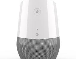 Google Home Smart Speaker 3D model