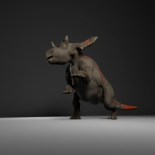 Uthaceratops rigged