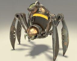 3D Mechanical Spider