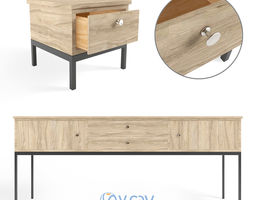 3D model Sideboard and Chest of drawer