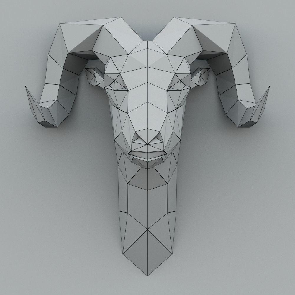 Rem Paper Head 3d Model Max Obj Mtl 2