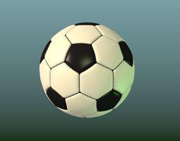 Soccer ball football 3D asset realtime