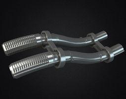 Metal Pipes 3D asset