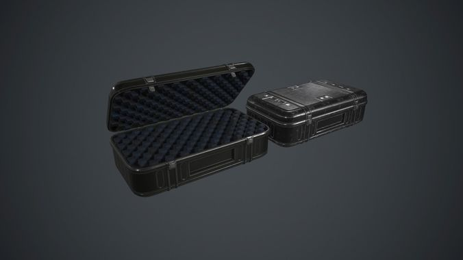 Military Weapon Case PBR Game Ready
