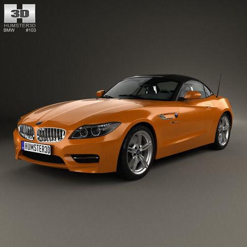 Bmw Z4 E89: BMW Z4 E89 Roadster 2013 3D Model MAX OBJ 3DS FBX C4D LWO