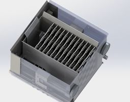 Drawer tray 3D