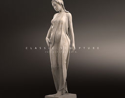 3D printable model Gorgeous sculpture of a woman