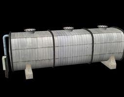 3D asset realtime fuel tank
