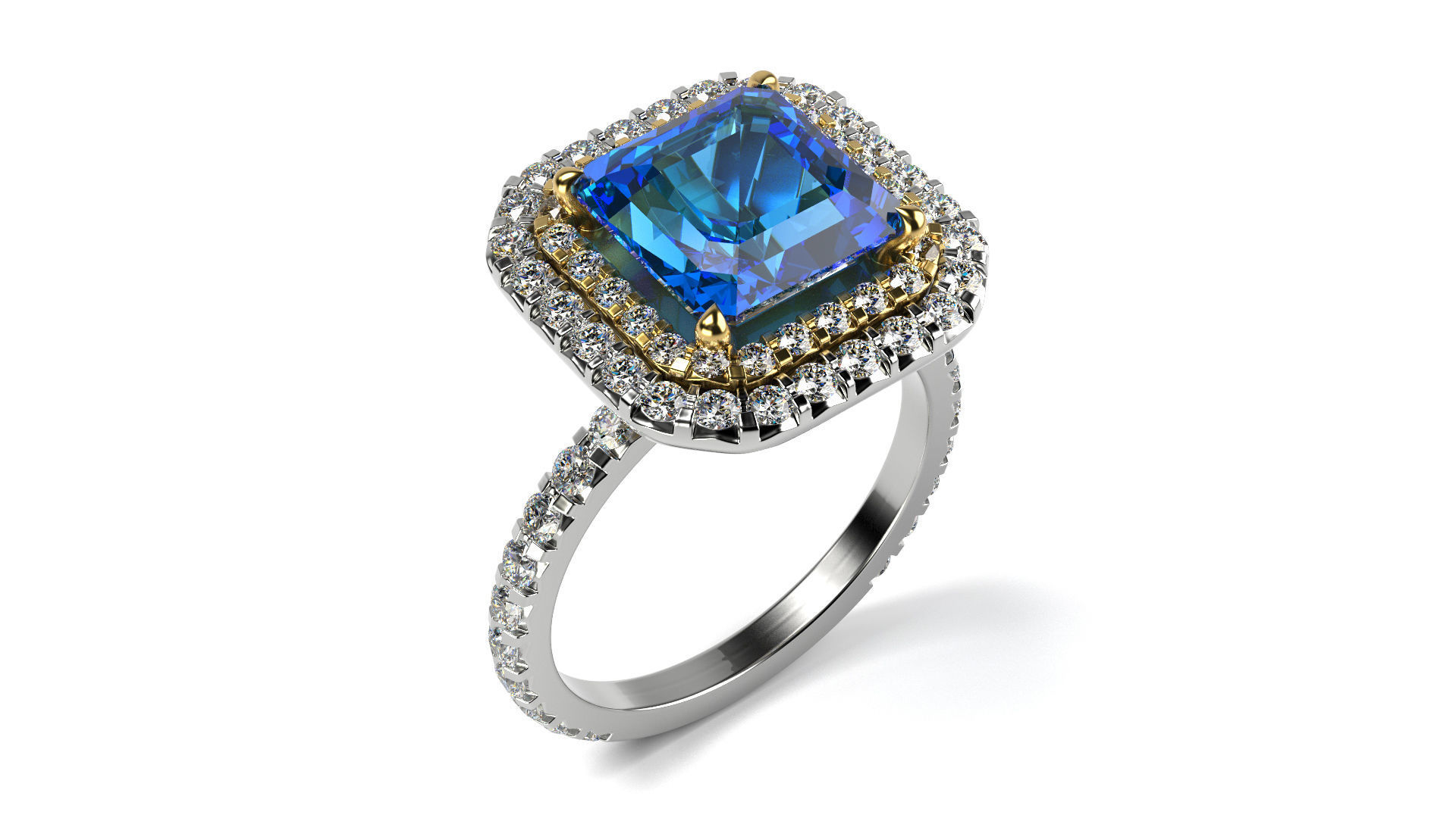 salom shop en gold in diamonds large ring with sapphire model sapphires ceylon paved yellow and