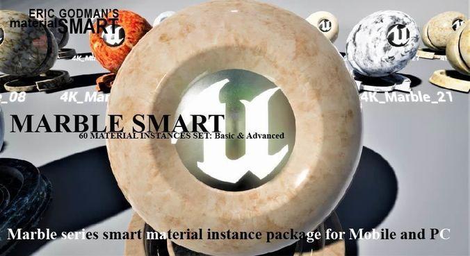 marble materials 3d model  1