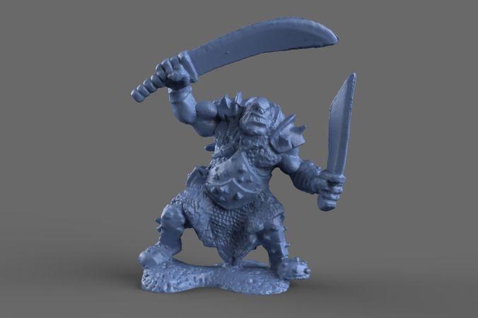 Ogre Miniature model