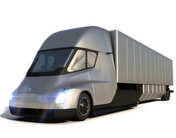 3D Tesla Semi Truck