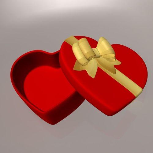 Heart-shape gift box