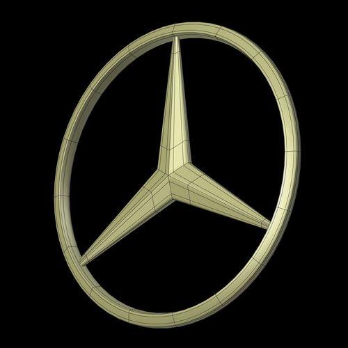 D Low Poly Car LogosAudi Mazda Kia Mercedes CGTrader - Audi car symbol