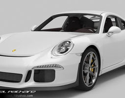 Porsche 911 GT3 2015 3D Model