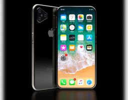 iPhone XI 11 Concept PolyDesign 3D model