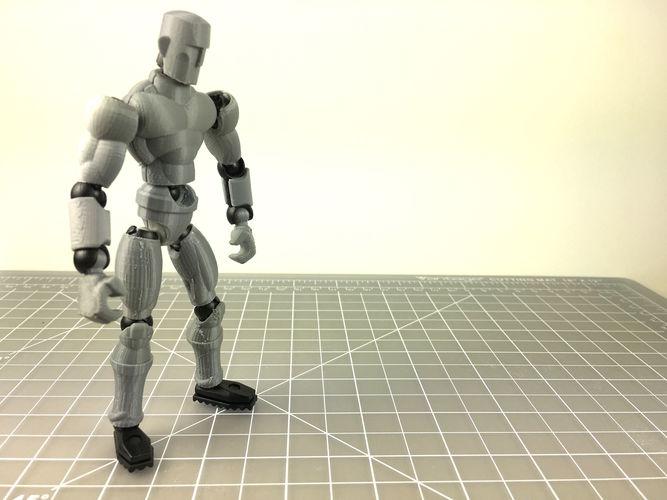 3d print model human exoskin action pack for modibot mo 1
