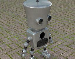 models Robot Dude 3D Molde