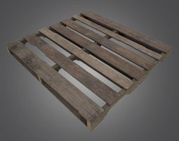 Pallet - 4K PBR Game Ready 3D asset