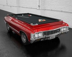 3D model chevrolet impala 1967 billiard