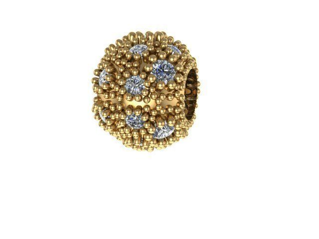 scattering stone charm ball