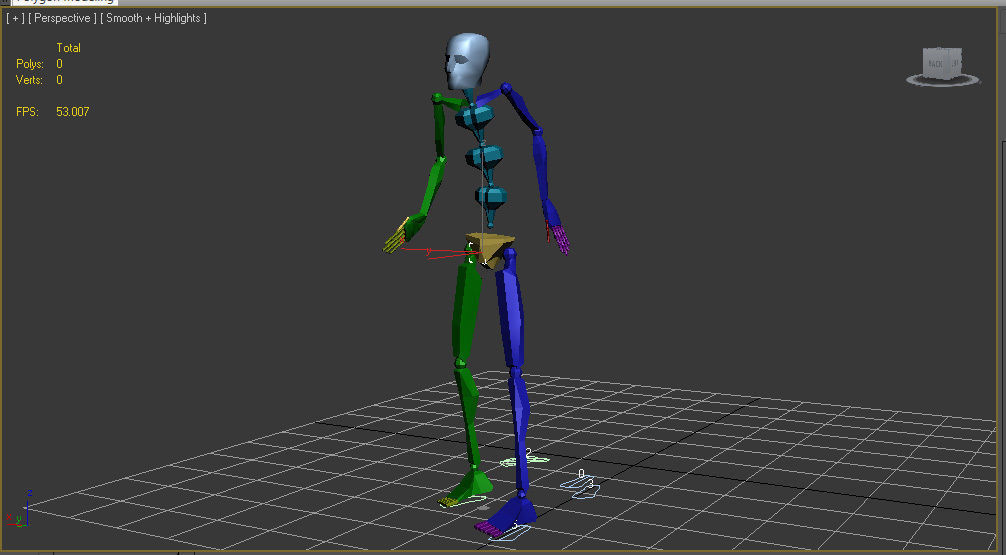 100 Looping Motion Capture Files