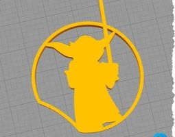 Disney Inspired Mouse Ear - Star Wars - YODA - 3D print