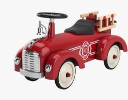 3D model Riding toy firetruck