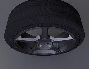 3D Car disk model