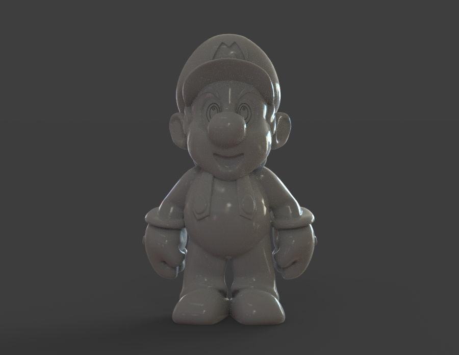 Mario Statue